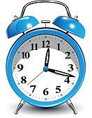 Alarm Clock Clip Art - Royalty Free - GoGraph
