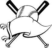 Baseball or Softball Pennant