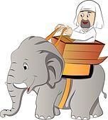 Elephant Ride, illustration