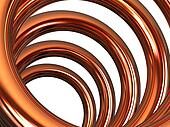 Copper helix