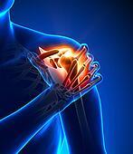 Shoulder pain - hurt trauma