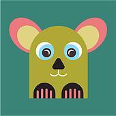 Strange animal Mascot