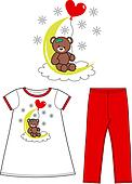 Childrens Clothing Clip Art - Royalty Free - GoGraph