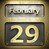 february 29 golden sign