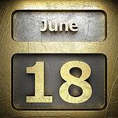 june 18 golden sign