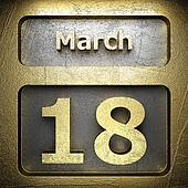 march 18 golden sign
