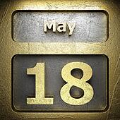 may 18 golden sign