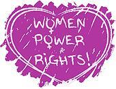 Women power symbol