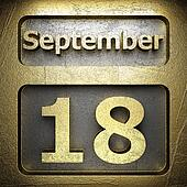 september 18 golden sign