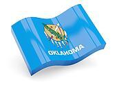 Wavy icon of oklahoma