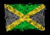 smoky flag of Jamaica