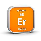 Erbium material sign
