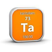 Tantalum material sign