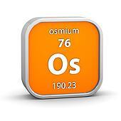 Osmium material sign