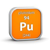 Plutonium material sign