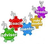 Coach Advisor Mentor Leading You to Achieve Goals