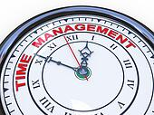 3d time management clock