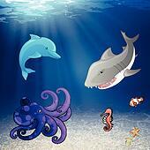 Vector Sea Creatures