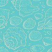 Seashell seamless