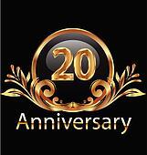 20 years anniversary birthday