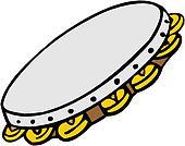 Traditional tambourine