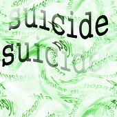 concept suicide background