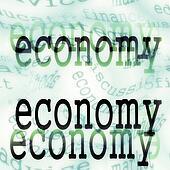 economy background concept