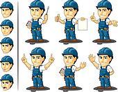 Technician or Repairman Mascot 3