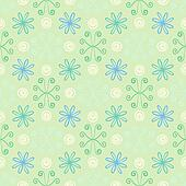 Spring simple and clean pattern with flowers