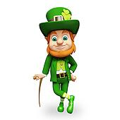 Leprechaun for st patrick's day