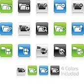Folder Icons - 1 // Clean Series