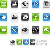 Food Icons - 1 // Clean Series