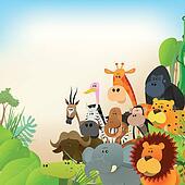 Wildlife Animals Background