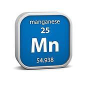 Manganese material sign