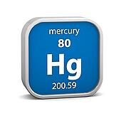 Mercury material sign