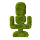 Grass microphone icon