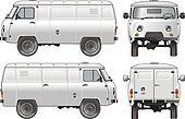 delivery / cargo van 4x4