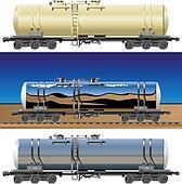 Oil / gasoline tanker car