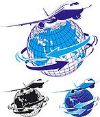 airliner as a logo