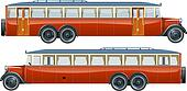 vintage bus liner