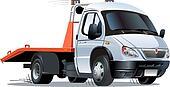 Cartoon tow truck