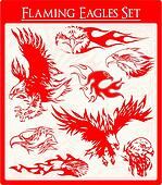 Flaming Eagles