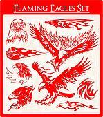 Flaming Eagles