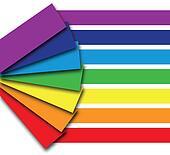 rainbow colour book