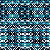 retro seamless pattern with grunge effect