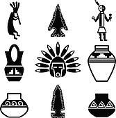 Southwestern Native Artifact Icons