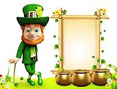 Leprechaun for st. patrick day