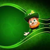 Leprechaun for st. patrick day