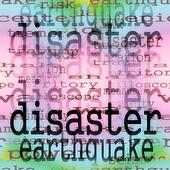concept disaster earthquake