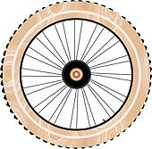 antique wood bike wheels